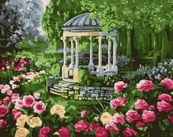 "РН-112 Картина по номерам ""Аромат розы"" (40х50 см) на холсте"