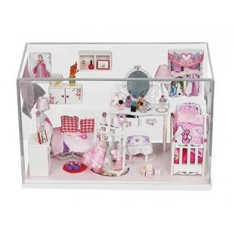 """009-B Набор для создания миниатюры """"Комната принцессы"""""""