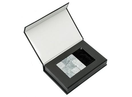 011-CR Охлаждающие камни для напитков 9 шт (серый стеатит)