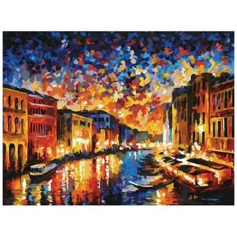 "024-AS Картина по номерам ""Гранд-Канал Венеция"" (30х40 см)"