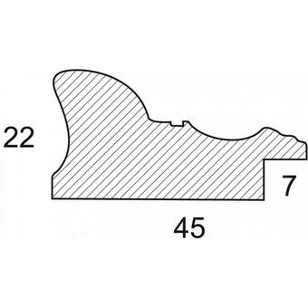 Багетная рама 1414-BL Viola (для работ размером 30*40 см)