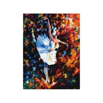"031-АS Картина по номерам ""Танец души"" (30х40 см)"
