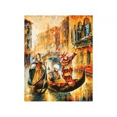 """2010-АМ Картина по номерам """"Венецианская гондола"""" (60х80 см)"""