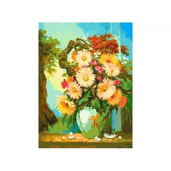 "193-AS Картина по номерам ""Японский натюрморт"" (30х40 см)"
