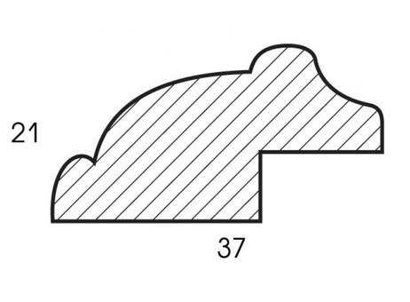 Багетная рама 2582-BB Аcademic (т. коричневый) (для работ размером 40*50 см)