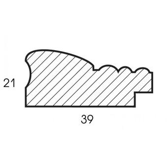 Багетная рама 1020-BL Isabelle (для работ размером 30*40 см)