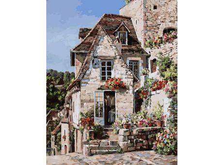 "212-AB Картина по номерам ""Франция. Ракамадур"" (40х50 см)"