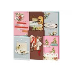 Наборы для создания 6-х открыток (12 вариантов)