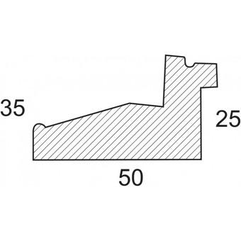 Багетная рама 2451-BB Camilla (для работ размером 40*50 см)