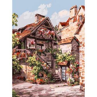 "257-AS Картина по номерам ""Франция. Кареннак"" (30х40 см)"