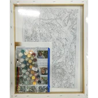 """261-AB Картина по номерам """"Ирбис"""" (40х50 см)"""