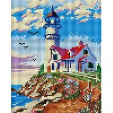 "411-ST-PS Алмазная мозаика в пакете ""Старый маяк"" (20х25 см)"