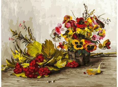 "267-AS Картина по номерам ""Осень"" (30х40 см)"