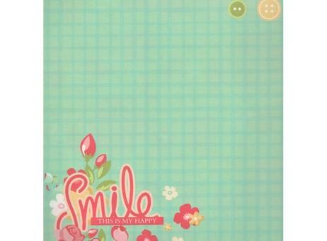 "051-SB Набор бумаги ""Цветочная поляна"""