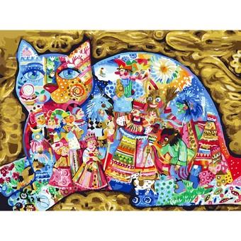 """336-AS Картина по номерам """"Масленица"""" (30х40 см) на холсте"""