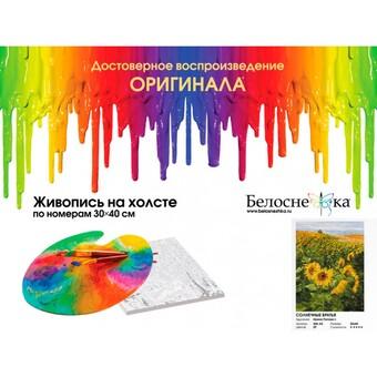"""386-AS Картина по номерам """"Солнечные братья"""" (30х40 см) на холсте"""