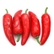 4625-SB Перец 1,5*5.5 см. 5 шт. красный