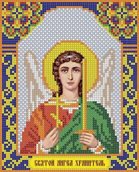 """ИМА4-005 Алмазная вышивка иконы """"Святой Ангел Хранитель"""" (17х21 см)"""
