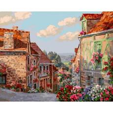 """452-ART Картина по номерам """"Франция. Округ Сен-Бриё"""" (40х50 см)"""
