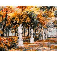 "453-ART Картина по номерам ""Санкт-Петербург. Летний сад"" (40х50 см)"