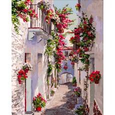 "455-ART Картина по номерам ""Испания. Кадакес"" (40х50 см)"