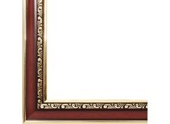 Багетная рама 1582-BL Аcademic (т. коричневый) (для работ размером 30*40 см)