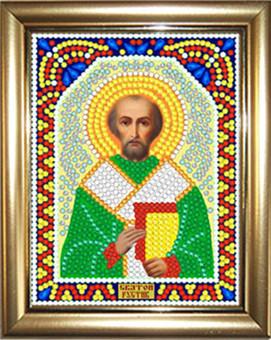 """ИМРА-053 Алмазная мозаика """"Св. Руслан"""" (12х15 см) с рамкой"""