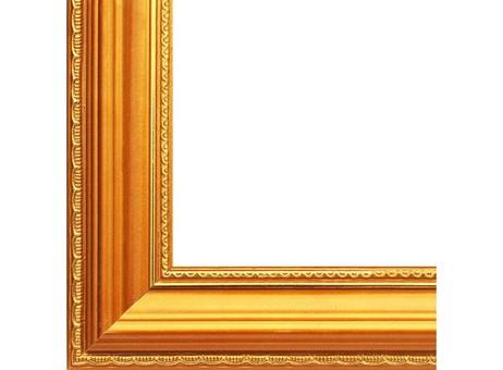 Багетная рама 1060-BL Nicole (золотой) (для работ размером 30*40 см)