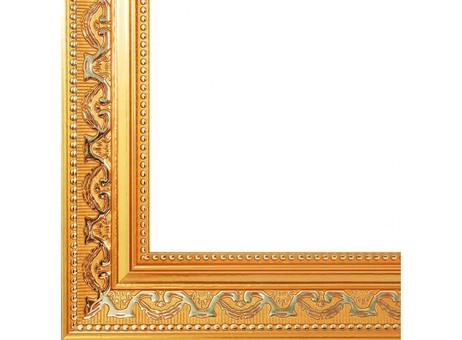 Багетная рама 1520-BL Baroque (золотой) (для работ размером 30*40 см)