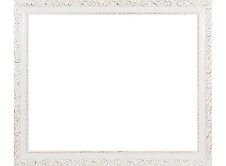 Багетная рама 2575-BB Antique (белый) (для работ размером 40*50 см)