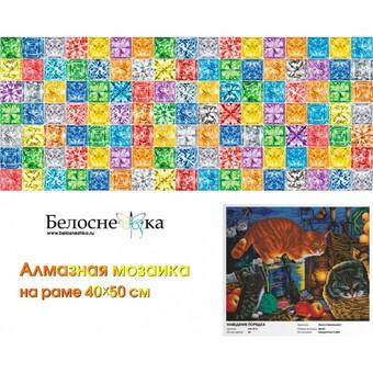 """616-ST-S Алмазная мозаика на подрамнике """"Наведение порядка"""" (40х50 см)"""