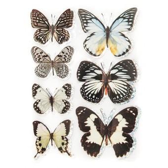 810-DB Большие бабочки