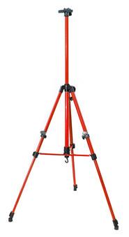 Мольберт телескопический тренога металлический (красный) 67-BS