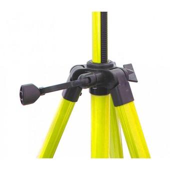 Мольберт телескопический тренога металлический (желтый) 68-BS