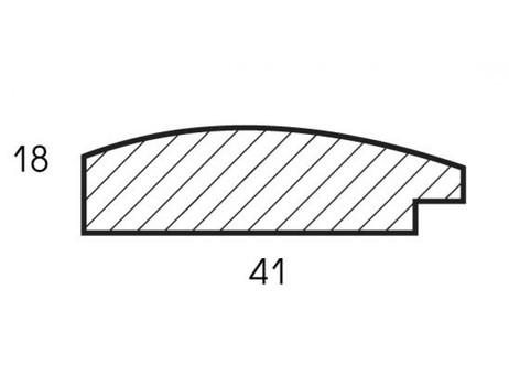 Багетная рама 2031-BB Sandra (серебряный) (для работ размером 40*50 см)