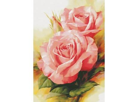 """6080-14 Набор для вышивания крестом """"Королевские розы"""" (64х91 см)"""