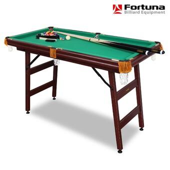 Бильярдный стол Fortuna Пул 4фт с комплектом аксессуаров (арт. 04039)
