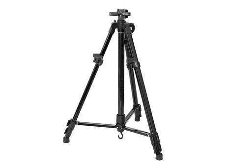 Мольберт телескопический тренога металлический (черный) 70-BS