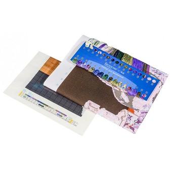 "7060-3D Набор для 3D вышивки ""Голубой натюрморт"" (62х50 см)"