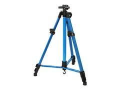 Мольберт телескопический тренога металлический (синий) 72-BS