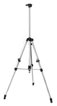 Мольберт телескопический тренога металлический (серебро) 73-BS