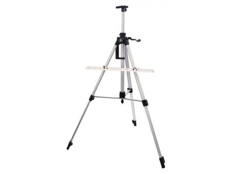 Мольберт телескопический тренога металлический (серебро) 75-BS