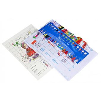 """7500-PK Набор для вышивания с рисунком на канве """"Чувства"""" (20,8х20,8 см)"""