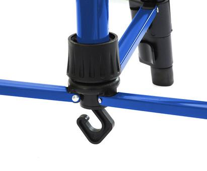 Мольберт телескопический тренога металлический (синий) 77-BS