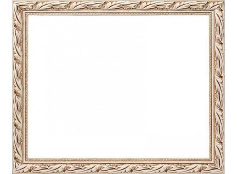 Багетная рама 2595-BBKleopatra (белый) (для работ размером 40*50 см)