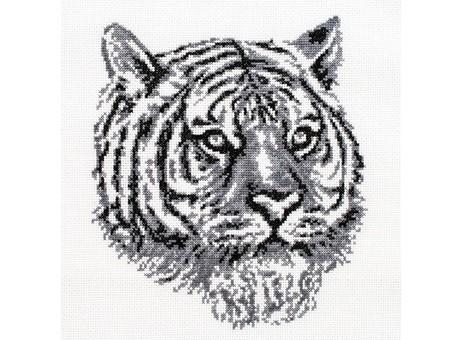 """187-14 Набор для вышивания крестом """"Тигр"""" (20,5х23 см)"""