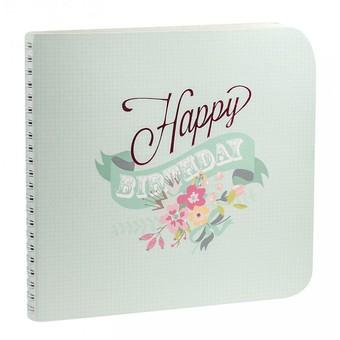 "932-SB Набор для создания альбома ""Happy Birthday"""