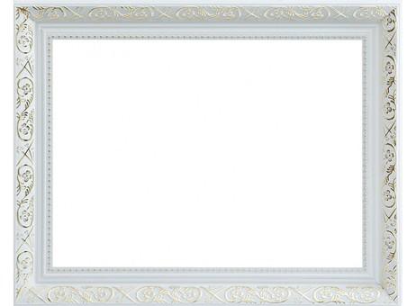 Багетная рама 1081-BL Flora (серебряный) (для работ размером 30*40 см)