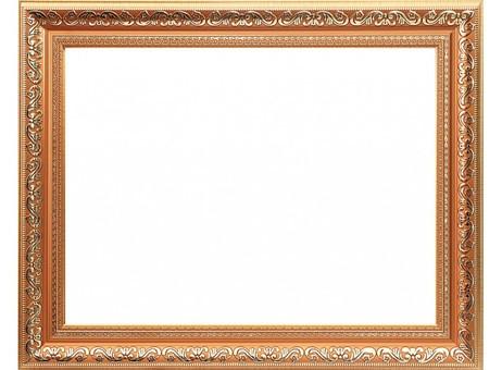 Багетная рама 1242-BL Jasmine (с.коричневый+золотой) (для работ размером 30*40 см)