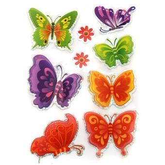 806-DB Красивые бабочки